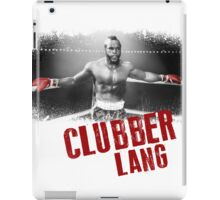 Clubber Lang iPad Case/Skin