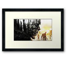 End of the Light Framed Print