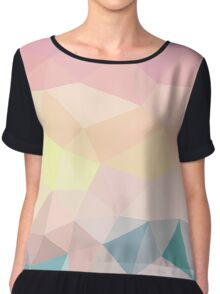 Sunset Beach Tris  Chiffon Top