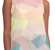 Sunset Beach Tris  Contrast Tank