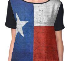 Texas Flag - Lone Star State Chiffon Top
