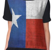 Texas Flag - Lone Star State Chiffon Top
