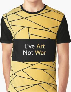 Gold Creation from our artistic  Atelier - gold and black Fractal Art. We bring Future in Fashion. Graphic T-Shirt