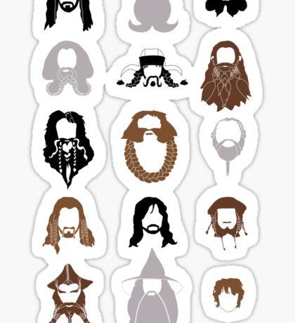 The Bearded Company Sticker
