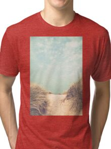 The way to the beach Tri-blend T-Shirt
