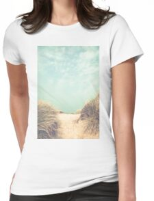 The way to the beach Womens Fitted T-Shirt