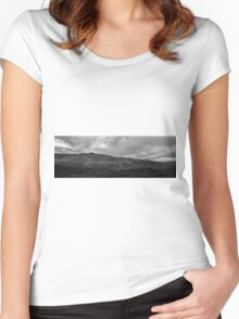 Sunset Point Arizona Panorama Women's Fitted Scoop T-Shirt
