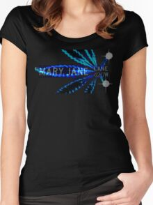 Mary Jane 420 Women's Fitted Scoop T-Shirt