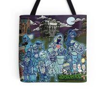 Grim Grinning Ghosts Tote Bag