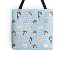 Zodiac comic Background Pattern Tote Bag