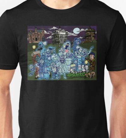 Grim Grinning Ghosts Unisex T-Shirt