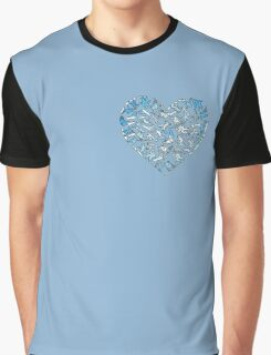 In Love With Snowboarding (light) Graphic T-Shirt