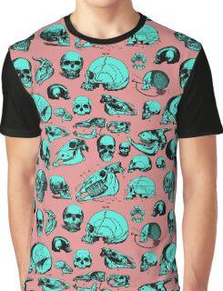 Skull Overload Pattern Graphic T-Shirt