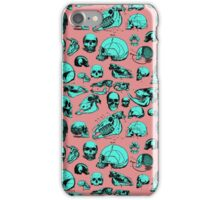 Skull Overload Pattern iPhone Case/Skin