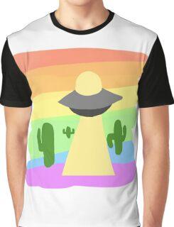 PRIDE UFO COLLECTION: Gay Pride Graphic T-Shirt