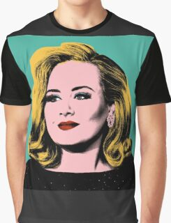Adele Pop Art -  #adele  Graphic T-Shirt