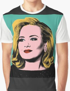 Adele Pop Art -  #adele  Graphic T-Shirt