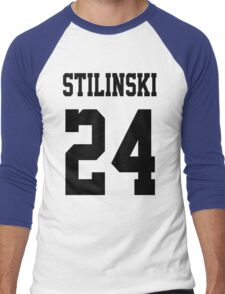 Stilinski Jersey Black Letters Men's Baseball ¾ T-Shirt