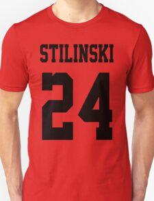 Stilinski Jersey Black Letters Unisex T-Shirt
