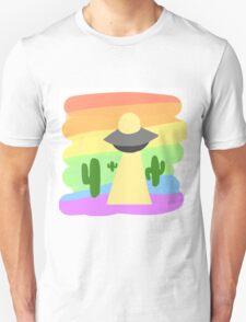 PRIDE UFO COLLECTION: Gay Pride Unisex T-Shirt