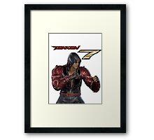 Tekken 7 - Jin Kazama Framed Print