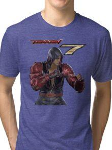 Tekken 7 - Jin Kazama Tri-blend T-Shirt