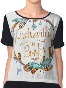 Enchanted by Books Chiffon Top