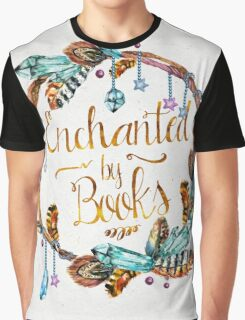Enchanted by Books Graphic T-Shirt