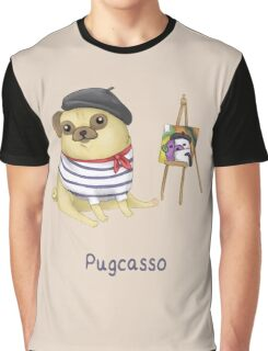 Pugcasso Graphic T-Shirt