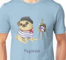 Pugcasso Unisex T-Shirt