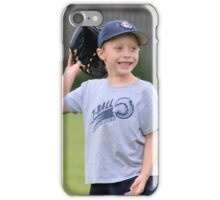 Happy T-Ball Player iPhone Case/Skin