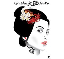 Graphic Osaka Photographic Print