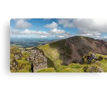 Crib Goch Mountain Canvas Print