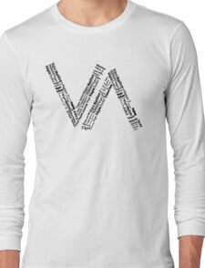 Vape Nation - Word Cloud Long Sleeve T-Shirt