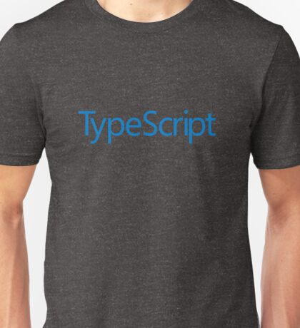TypeScript Logo Unisex T-Shirt