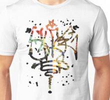Slide Graffiti Tag - Colour Unisex T-Shirt