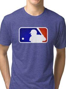 mlb logo Tri-blend T-Shirt