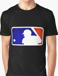 mlb logo Graphic T-Shirt