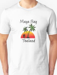 Maya Bay Thailand Unisex T-Shirt