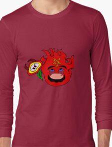 satan mario flower power Long Sleeve T-Shirt