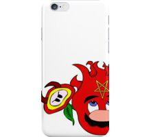 satan mario flower power iPhone Case/Skin
