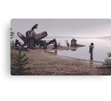 Rest Stop Canvas Print