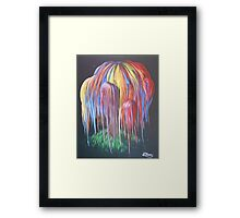 Happy Willow Framed Print