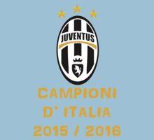 Juventus Campione d'Italia 2015 2016 Kids Tee