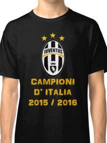 Juventus Campione d'Italia 2015 2016 Classic T-Shirt