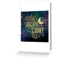 The Night Court Greeting Card