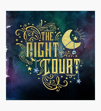 The Night Court Photographic Print