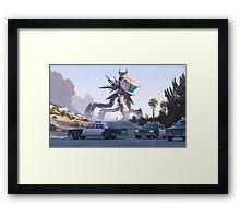 Specky Framed Print