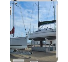 Yachts out of the water..#1 iPad Case/Skin