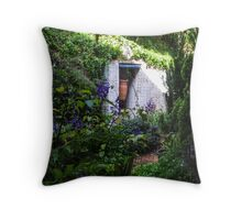 Pottery in enclave Throw Pillow